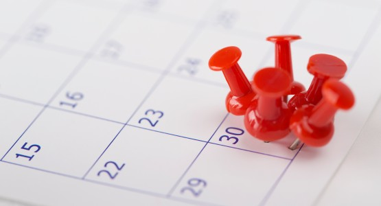 kalender tag makiert